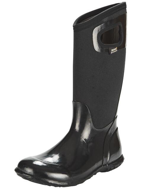 Bogs North Hampton Solid Tall - Bottes en caoutchouc Femme - noir